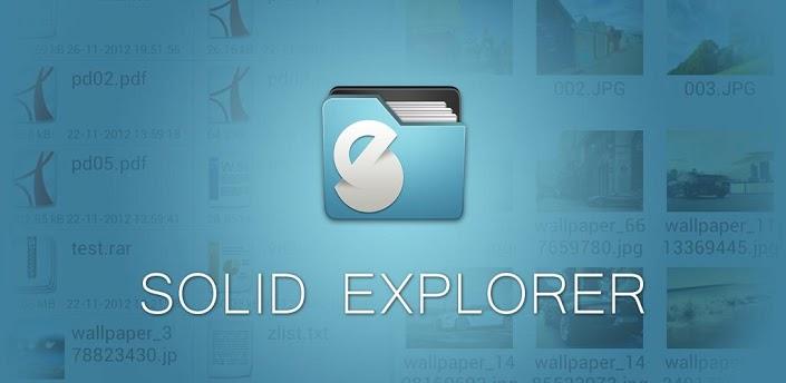 Solid Explorer - универсальный файловый менеджер для Android