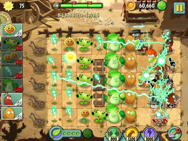 Plants vs zombies 2 to arrive in china soon.