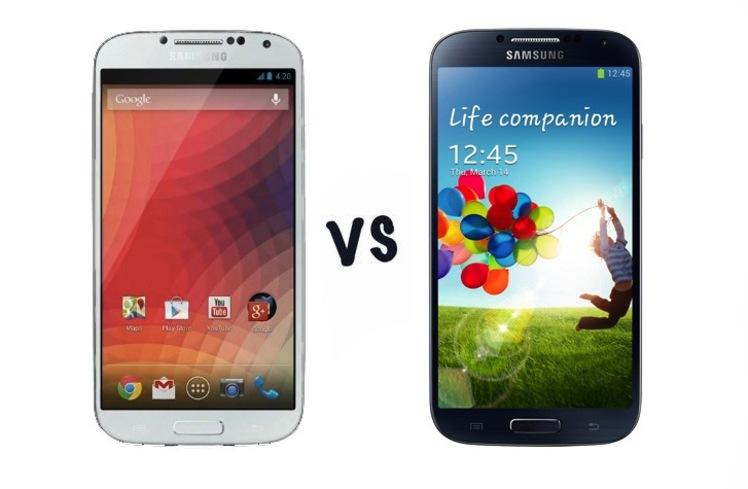 Сравниваем Samsung Galaxy S4 Google Edition с HTC One