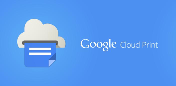 Cloud Print (Виртуальный принтер) - удобный способ распечатать что-либо с вашего Android девайса