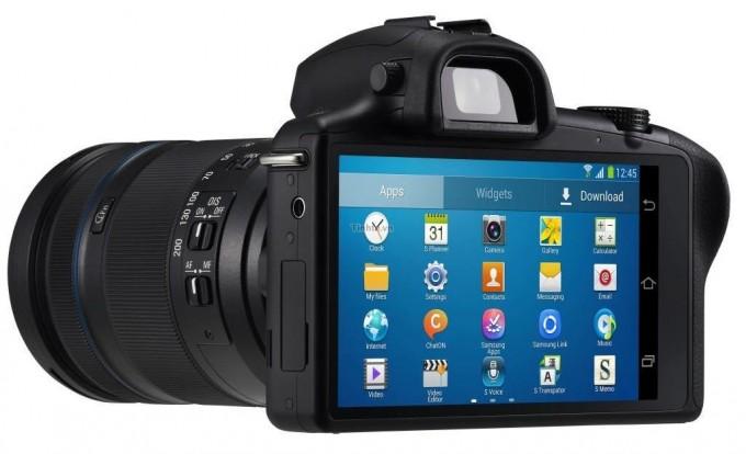 Galaxy NX - первый профессиональный беззеркальный фотоаппарат на Android