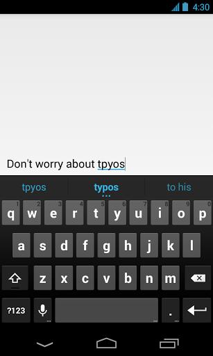 Google Keyboard - явный намек на Android 4.3