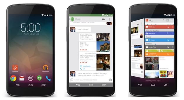 Концепт Android 5.0