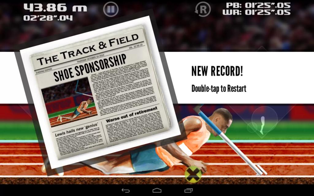Невероятно сложный и при этом смешной легкоатлетический симулятор QWOP завоевывает Google Play