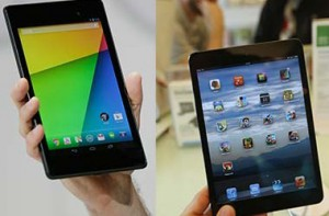 Новый Nexus 7 vs iPad Mini: кто кого?