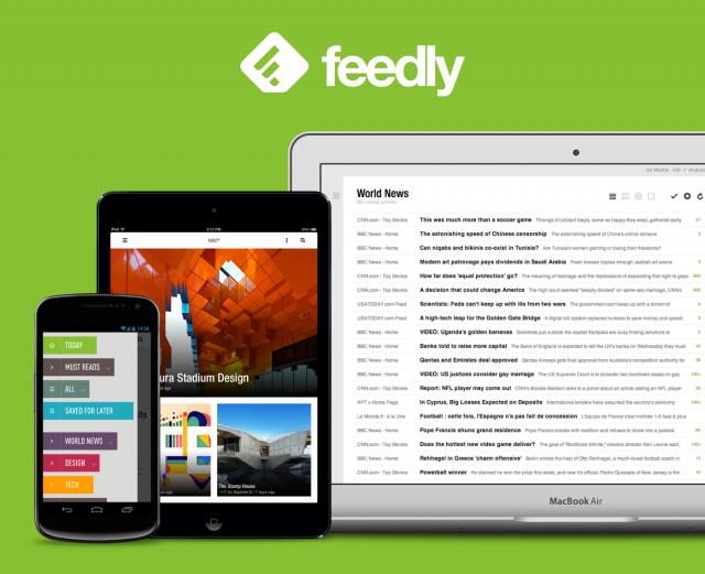 Экспортируем фиды Google Reader'а в Feedly