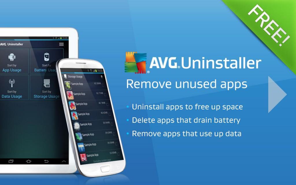 AVG Uninstaller - отличный инструмент для группового удаления приложений