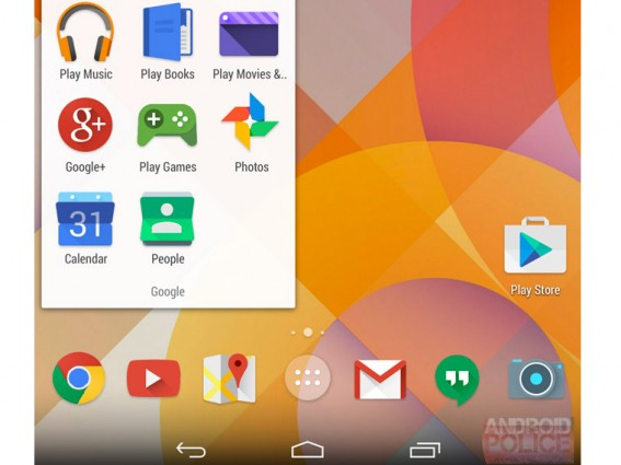 Android 4.5 (5.0) Lollipop
