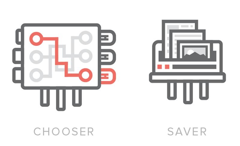 Chooser и Saver