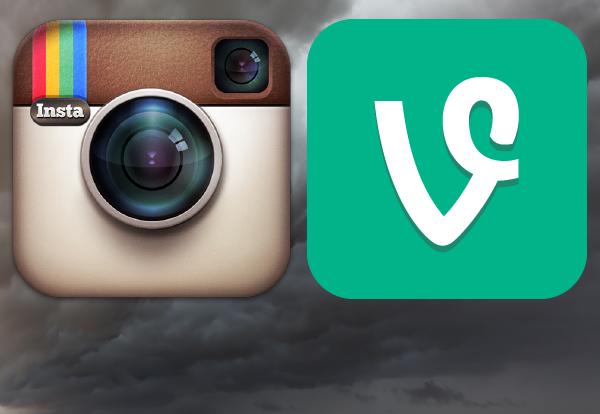 Instagram закосплеили Vine