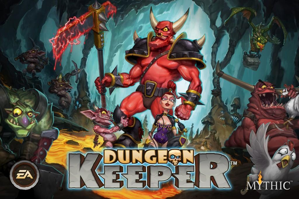 Захватывай подземелья вместе с Dungeon Keeper на Android