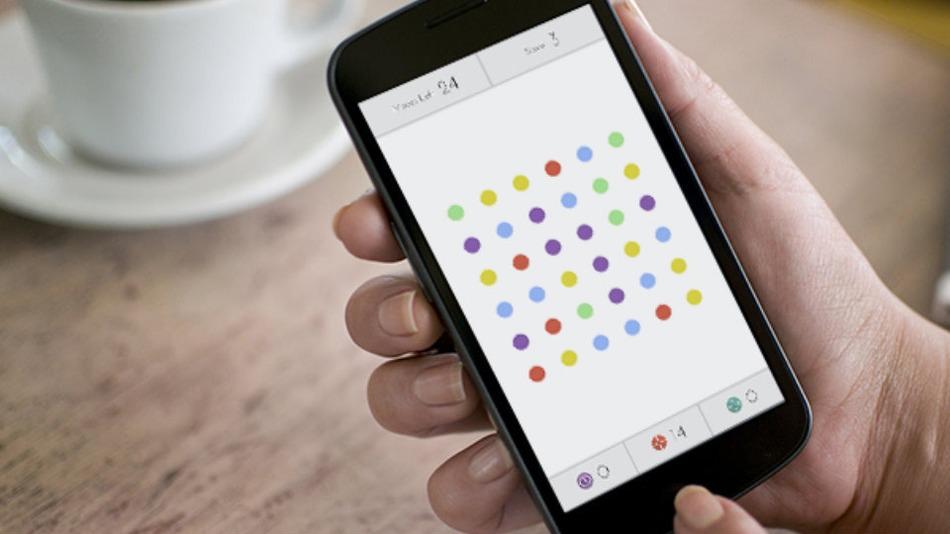 Dots - новейшая головоломка от Playdots, Inc