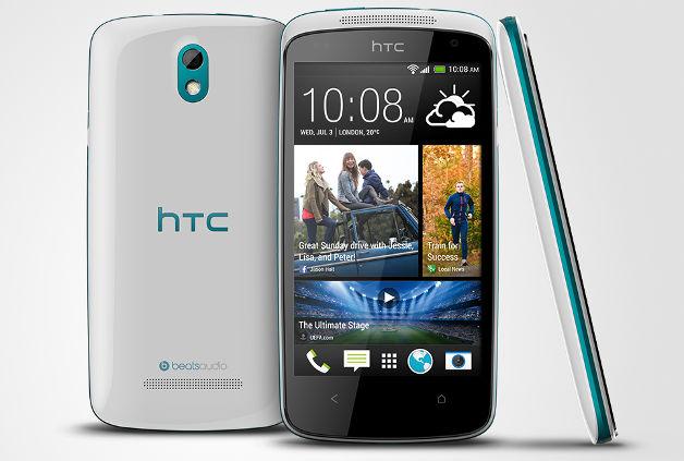 HTC Desire 500 - четырехъядерный смартфон для среднего класса