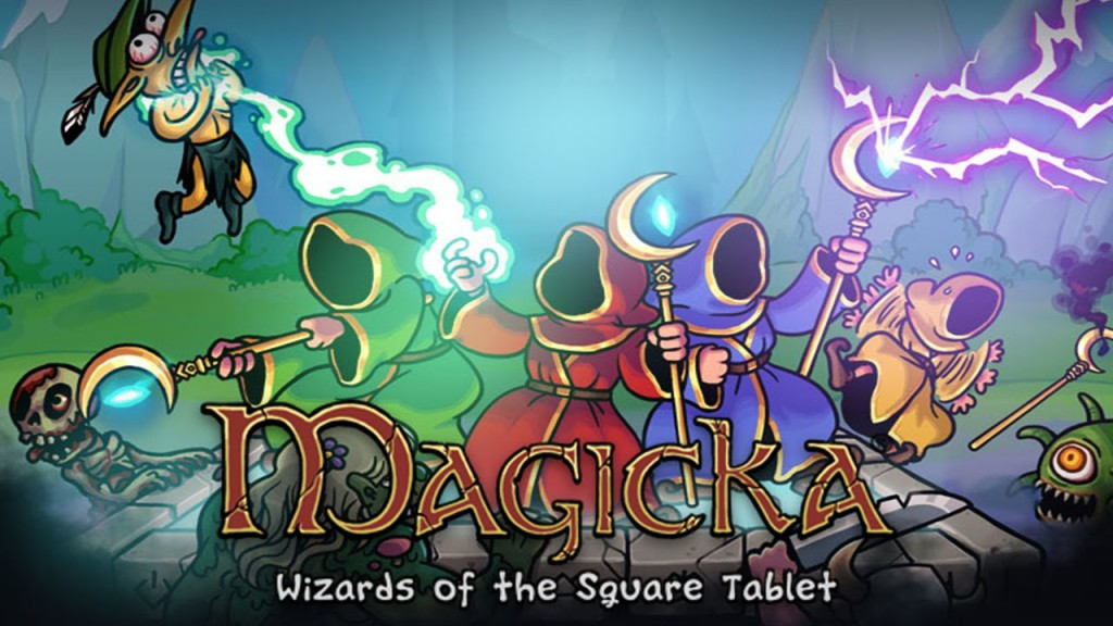 Magicka: Wizards of the Square Tablet – легендарная игра