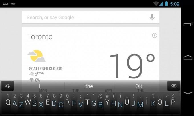 Minuum - клавиатура, которая заставит вас вспомнить, что такое Т9