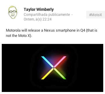 Motorola станет производителем следующего Nexus смартфона