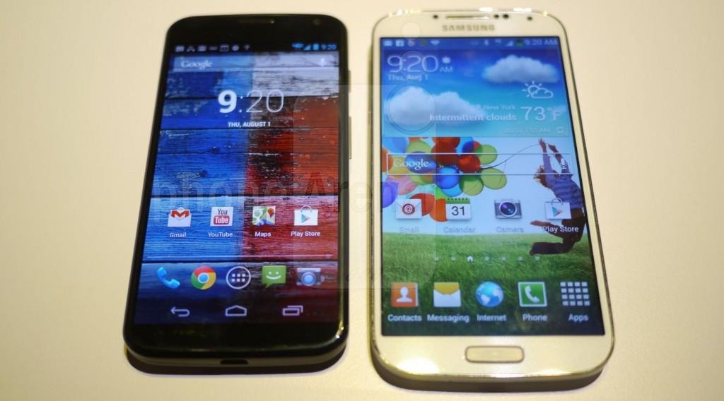 Motorola Moto X vs Samsung Galaxy S4: проверяем наличие угрозы со стороны Motorola