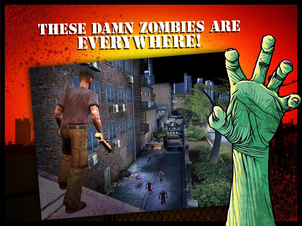 Zombie HQ - жестокое зомбимочилово на вашем Android девайсе