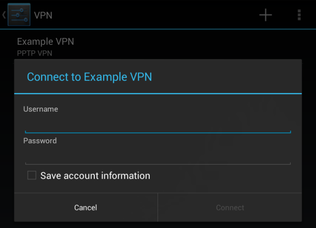 Настраиваем VPN на Android девайсах 4