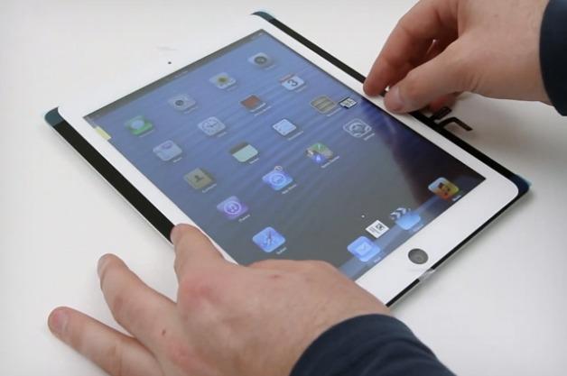 Первый видеообзор iPad 5