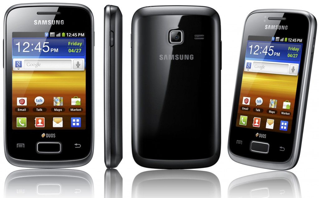 Превращаем Galaxy Y в iPhone при помощи прошивки iROM