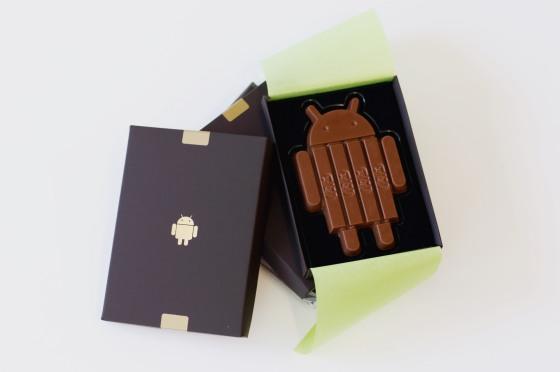 Android 4.4 KitKat батончик