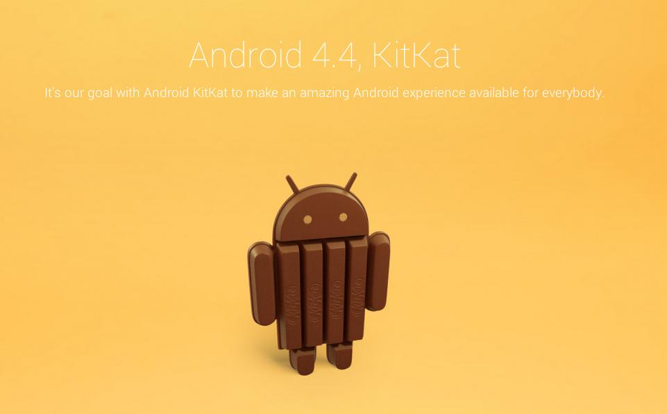 Android 4.4 KitKat: Новая версия ОС Android - продукт сотрудничества Google и Nestle