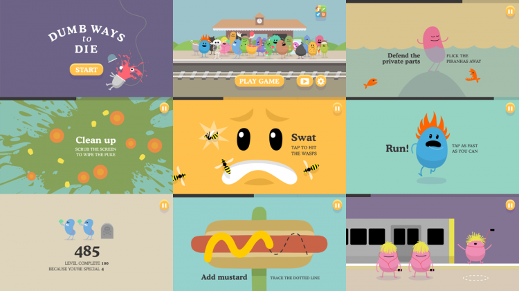 Dumb Ways to Die геймплей