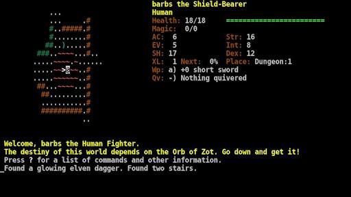 Dungeon Crawl SS (ASCII)