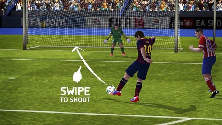 FIFA 14 от EA SPORTS управление