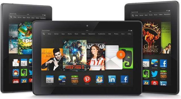 Kindle Fire HDX - новое поколение планшетов от Amazon