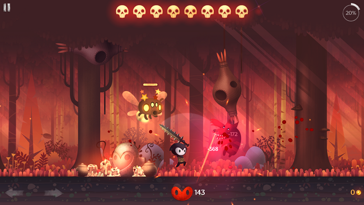 Reaper - экшен сайд-скроллер с элементами RPG от Hexage