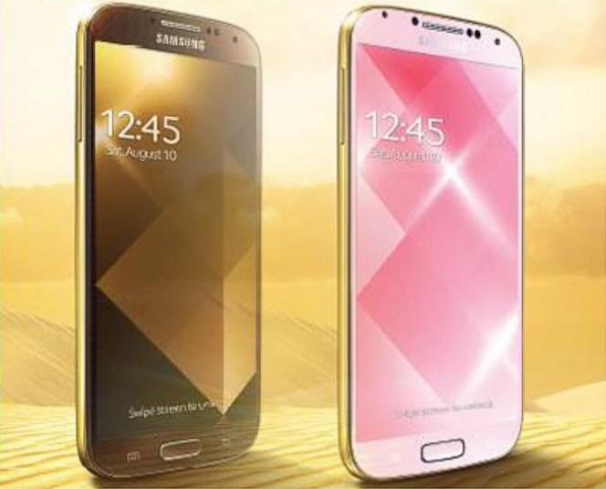 Samsung выпустят золотой Galaxy S4