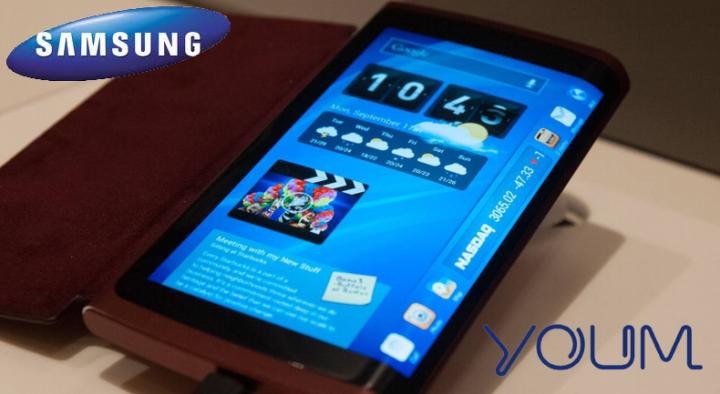 Samsung запустят в продажу гибкий смартфон уже в октябре