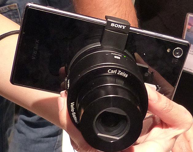 Sony Cyber-shot DSC-QX100 и QX10