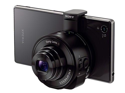 Sony Cyber-shot QX100 и QX10 - модульные камеры для смартфонов