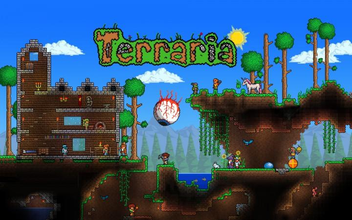 Terraria - культовая 8-битная песочница теперь на Android (для всех любителей Minecraft)