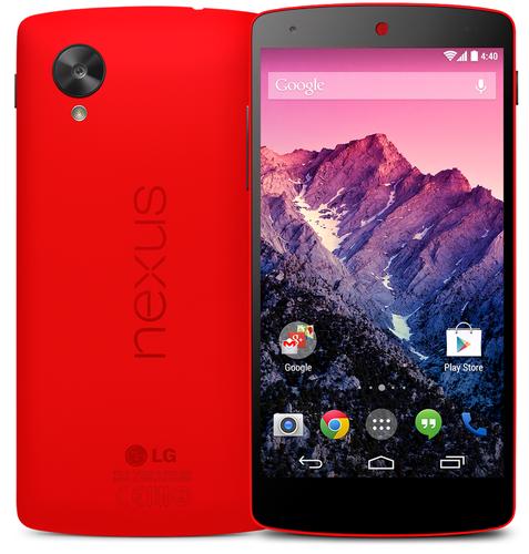 Красный Nexus 5
