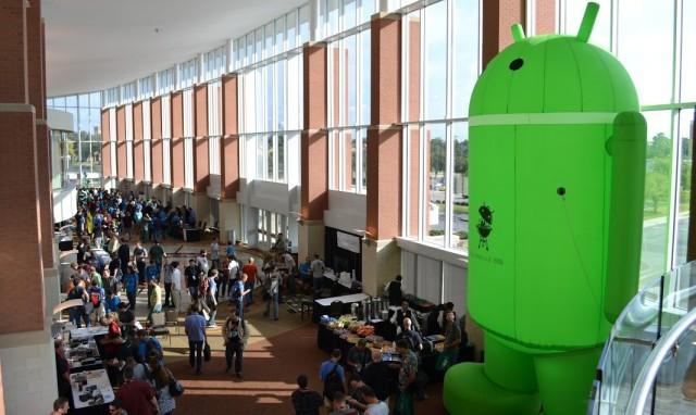 Небольшой отчет о Big Android BBQ