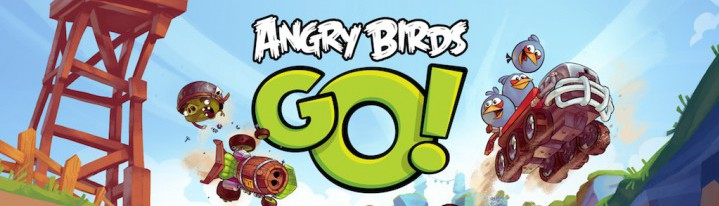 Angry Birds Go! - любимые персонажи теперь на колесах