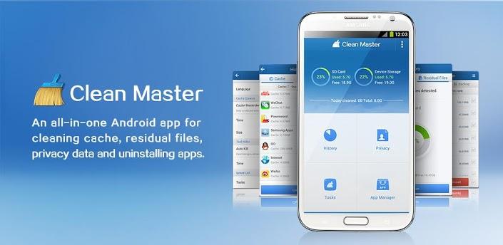 Clean Master – многофункциональный диспетчер задач для Android