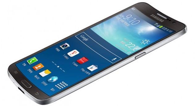 Galaxy Round - первый смартфон от Samsung с вогнутым дисплеем