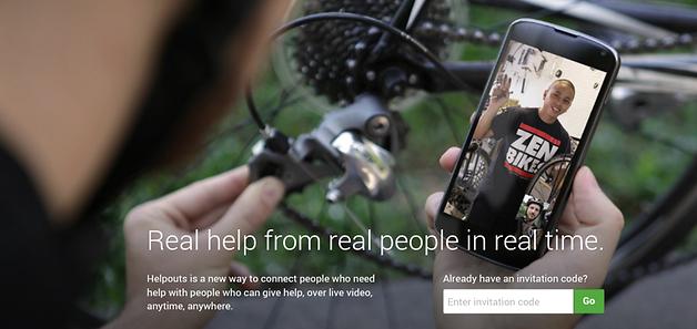 Google Helpouts - сиюминутная помощь от специалистов
