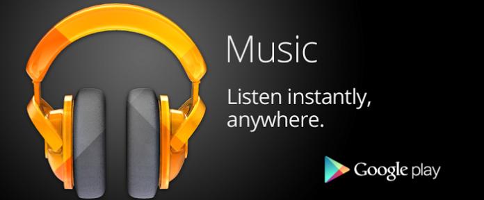 Google Play Music - музыкальный сервис от Google (доступен и в России)