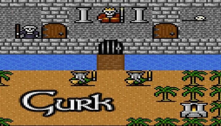 Gurk III – 8-битная RPG на Android