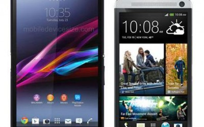 HTC One Max vs Sony Xperia Z Ultra - битва смартфонов-великанов