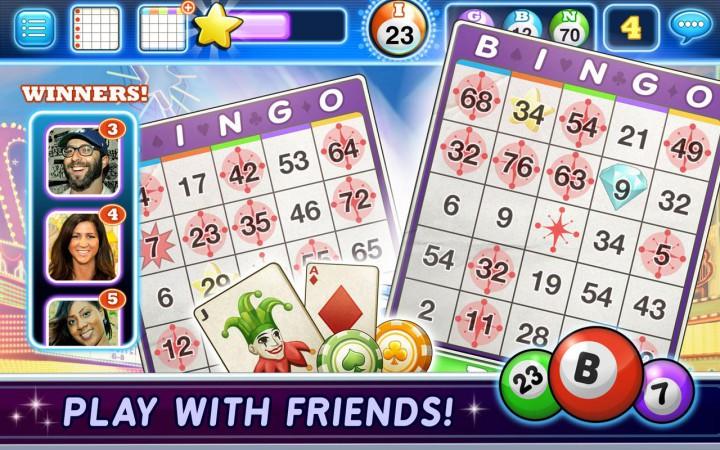 Jackpot Bingo - заморское лото на Android