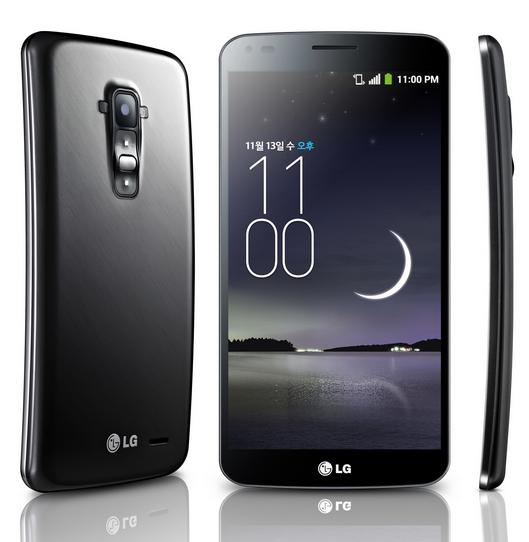 LG G Flex – 6-дюймовый смартфон с гибким дисплеем