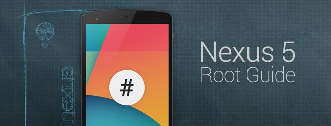 Получаем root-доступ для Nexus 5 с Android 4.4 KitKat