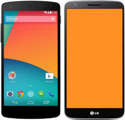 Nexus 5 vs LG G2: сравниваем самого молодого представителя семейства Nexus с его прародителем